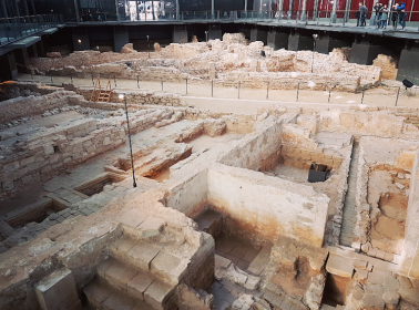 Excavated City Ruins