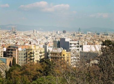 City View from Montjuic Castle