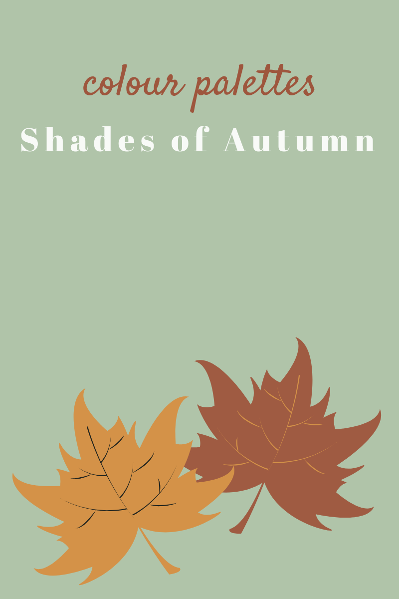 Shades Of Autumn - Colour Palettes Cover