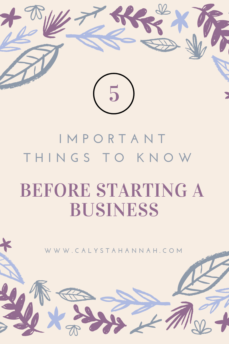 5 Things Before Business Start