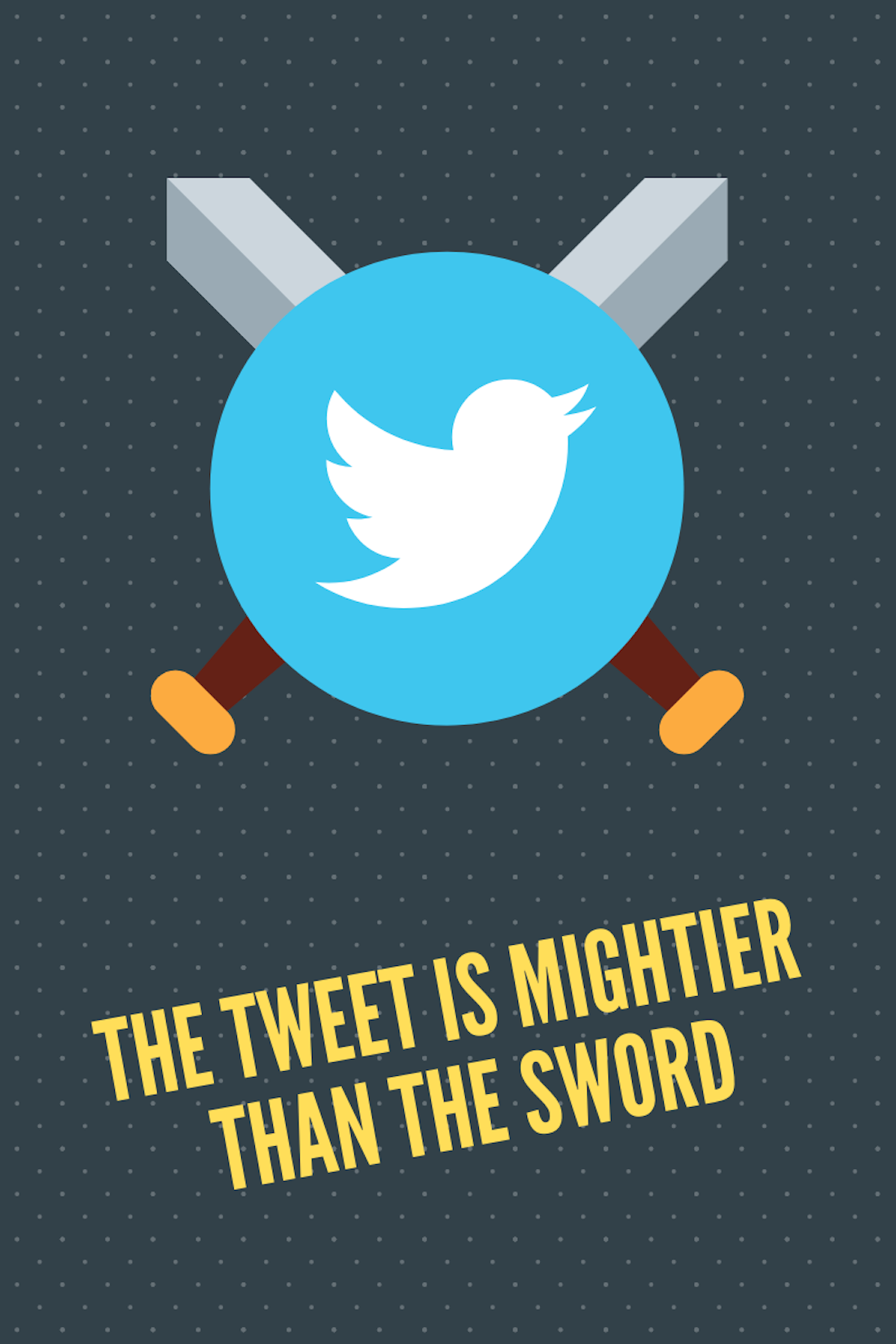 The Tweet Is Mightier Than The Sword Cover Image